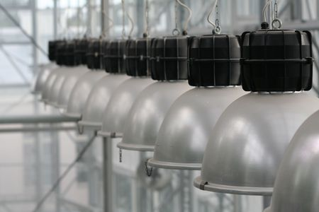 Greenhouse lights photo