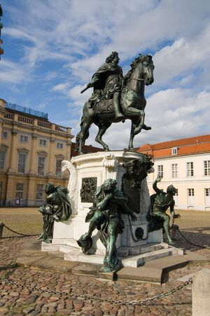 Charlottenburg Palace in a district of Berlin Germany