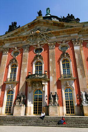 Palace in the garden of Sanssouci, Potsdam, Berlin, Germany