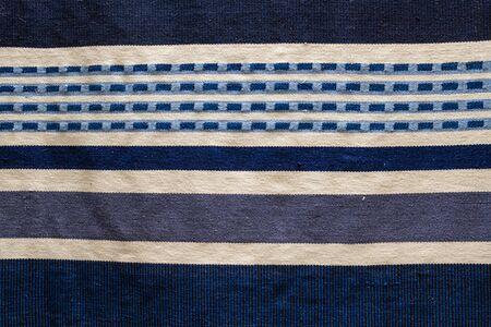 Blue pastel tone seamless carpet graphic pattern,texture background