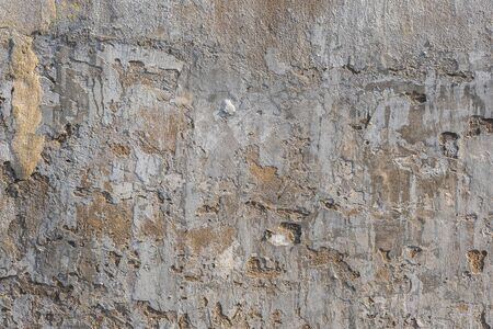 The cracked cement vintage wall background,grunge textures background
