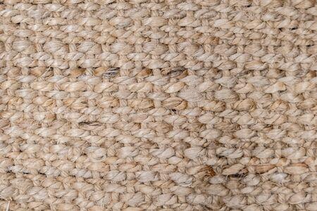 Close up natural sisal matting surface,texture background.