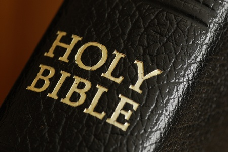 holy bible: Close-up of Holy Bible