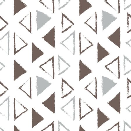 repeatable: Seamless pattern with triangles Illustration