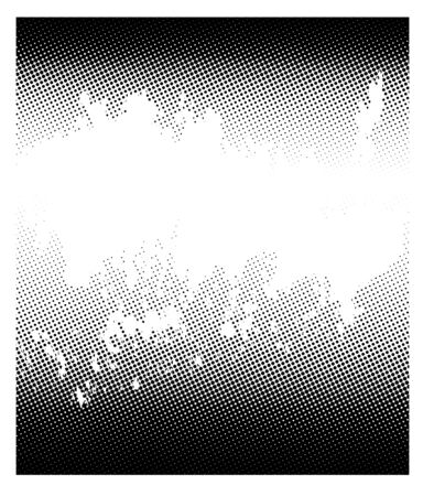 copy space: Halftone vector background with copy space