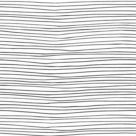 hand drawn: Vector seamless pattern - hand drawn lines