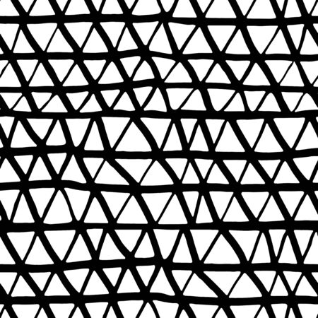 seamless pattern: Triangle abstract seamless pattern Illustration