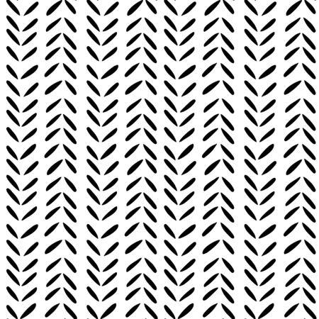 seamless pattern: Little leaves seamless pattern