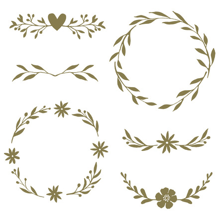 dividers: wreaths and dividers
