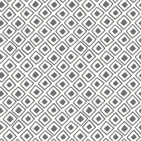 sketched shapes: Organic geometry shapes seamless pattern Illustration