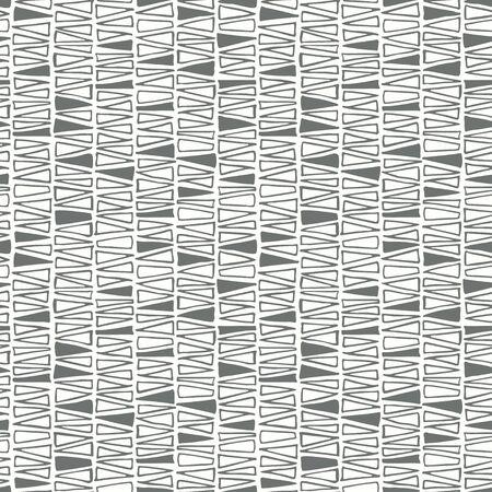 Organic geometry shapes seamless pattern Illustration