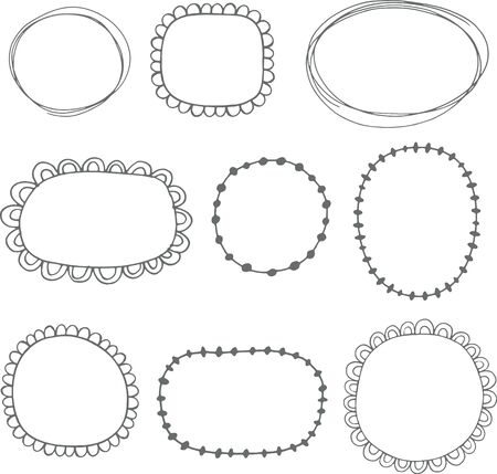 Collection of sketched frames