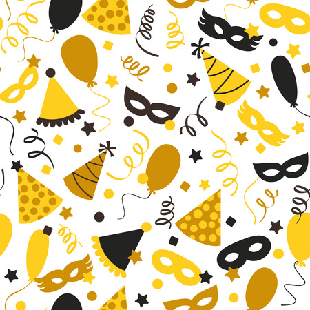 Carnival background - vector seamless pattern