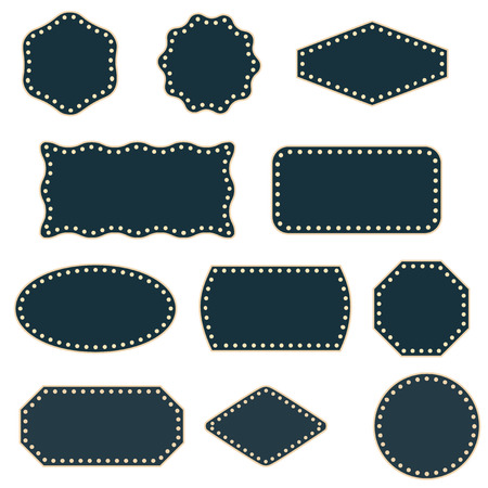 Collection of simple vector frames