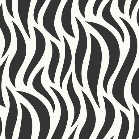 Wavy seamless pattern - vector background Illustration