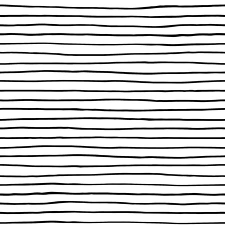 Ink lines - simple seamless pattern