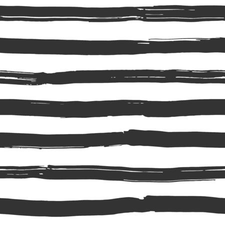 Ink painted stripes - seamless pattern
