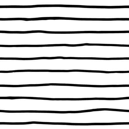 Ink lines - painted seamless patterns
