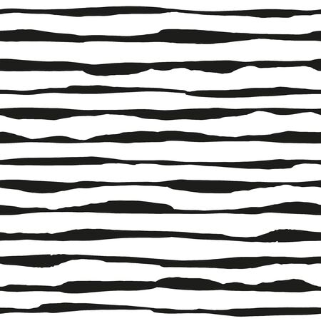 Pinted ink lines - seamless pattern