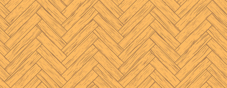 timber floor: seamless parquet, all the planks are different
