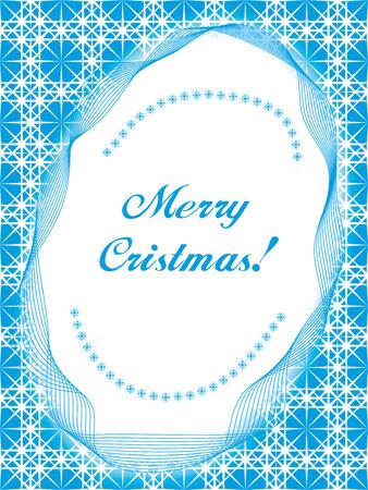 iceflower: cristmas cartolina sfondo, illustrazione vettoriale  Vettoriali