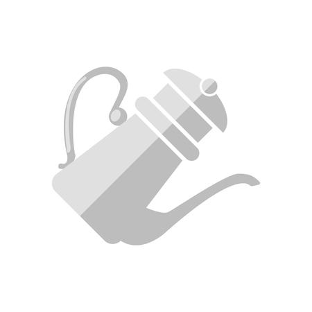 Vecteur d'icône théière isolé sur fond blanc pour la conception de votre application web et mobile