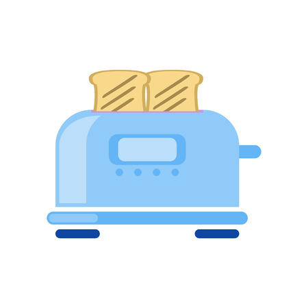 Toaster icon vector isolated on white background for your web and mobile app design