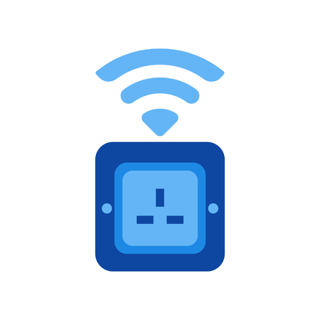 Socket icon vector isolated on white background for your web and mobile app design