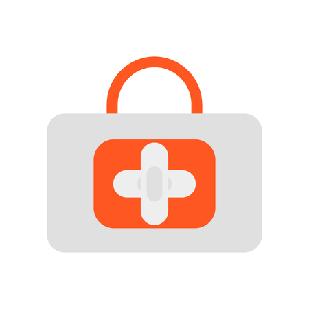 First aid icon vector isolated on white background for your web and mobile app design Archivio Fotografico - 107139359
