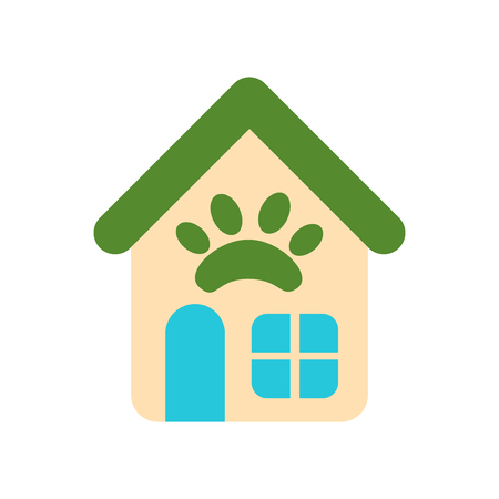 Pet shop icon vector isolated on white background for your web and mobile app design Archivio Fotografico - 107139938