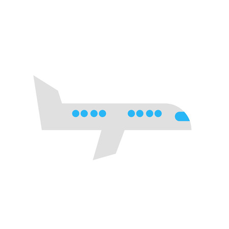 Airplane icon vector isolated on white background for your web and mobile app design