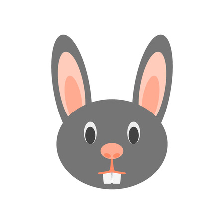 Rabbit icon vector isolated on white background for your web and mobile app design Illustration