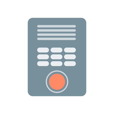 Intercom icon vector isolated on white background for your web and mobile app design Banco de Imagens - 107141129