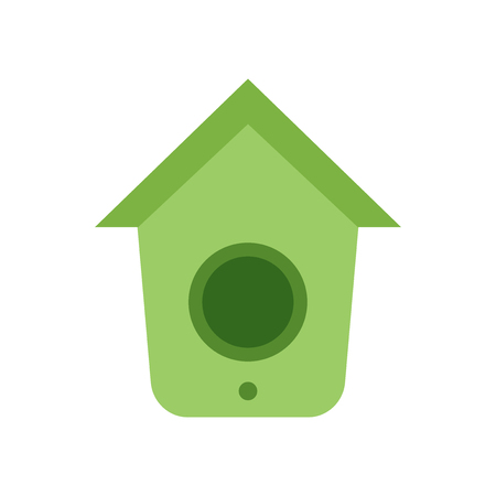 Birdhouse icon vector isolated on white background for your web and mobile app design