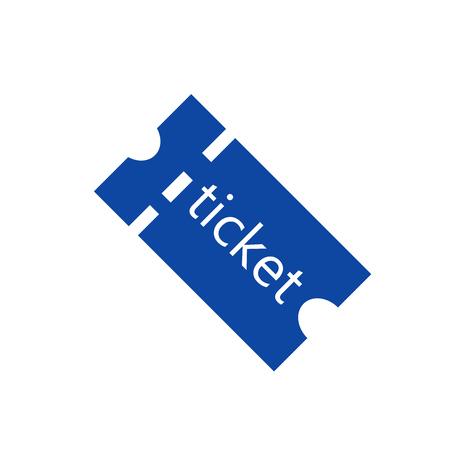 Tickets Symbol Vektor isoliert auf weißem Hintergrund für Ihr Web und mobile App Design