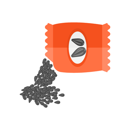 Seeds icon vector isolated on white background for your web and mobile app design 向量圖像