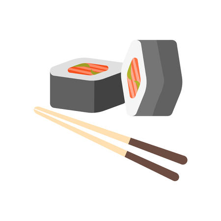 Sushi icon vector isolated on white background for your web and mobile app design, Sushi icon concept