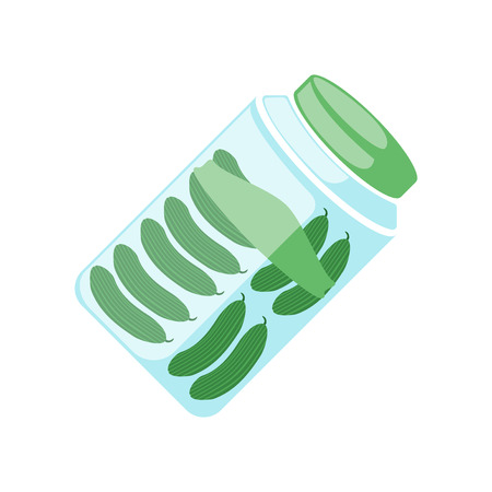 Pickles icon vector isolated on white background for your web and mobile app design Stok Fotoğraf - 107139847