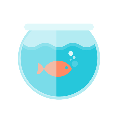 Aquarium icon vector isolated on white background for your web and mobile app design, Aquarium icon concept