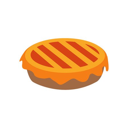 Pie icon vector isolated on white background for your web and mobile app design, Pie icon concept