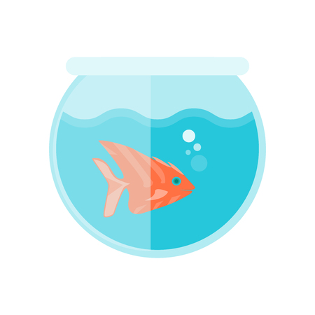 Fishbowl icon vector isolated on white background for your web and mobile app design