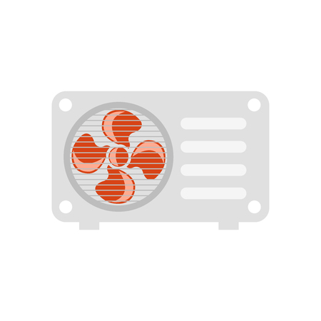 Air conditioner icon vector isolated on white background for your web and mobile app design, Air conditioner icon concept