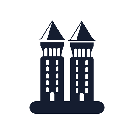 Tower icon vector isolated on white background for your web and mobile app design Banque d'images - 107066246