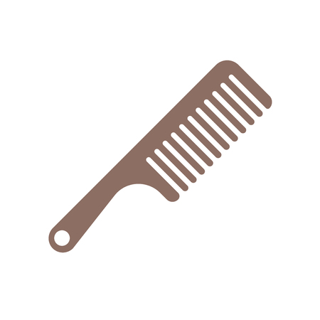 Comb icon vector isolated on white background for your web and mobile app design, Comb icon concept  イラスト・ベクター素材