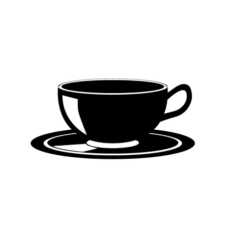 Coffee cup icon vector isolated on white background for your web and mobile app design, Coffee cup icon concept
