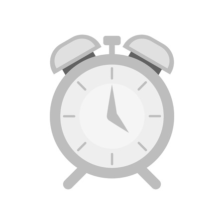Alarm icon vector isolated on white background for your web and mobile app design, Alarm icon concept