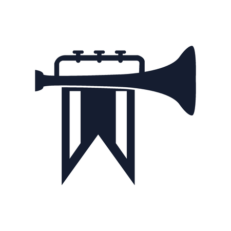 Fanfare icon vector isolated on white background for your web and mobile app design, Fanfare icon concept Illustration