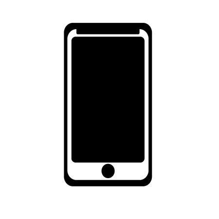 Smarthphone icon vector isolated on white background for your web and mobile app design Vettoriali