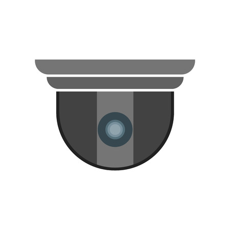 Security camera icon vector isolated on white background for your web and mobile app design, Security camera icon