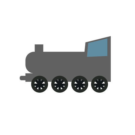 Railway icon vector isolated on white background for your web and mobile app design, Railway icon concept